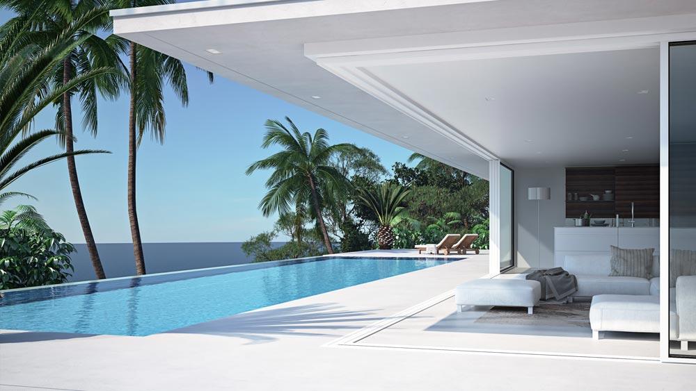 holiday rentals property for rent costa del sol palm dream estates mijas